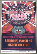 PIGEONS PLAYING PING PONG Denver, Colorado 2018 Gig Flyer 11x17 Concert Poster