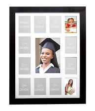 New Listing8x10 Picture Frame Black Set of 2, Display Picture 5x7 with Mat, Photo Frames fo