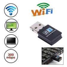 300Mbps Mini USB Wifi Adapter Receiver 802.11 B/G/N Network Lan Card Dongle TOP