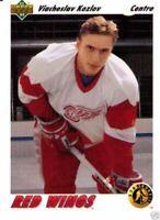 Viacheslav Kozlov 91-92 Upper Deck Rookie