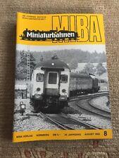 Miba Miniaturbahnen 1982 8 Gotthard-Express Liliput BR 91 Kleinbahn-Schuppen LGB