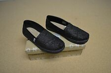 f8573b60c35 Toms Classic Slip on Textile Youth Boys Girls Shoes 10002865 - Black D116 3