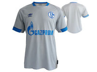 Umbro FC Schalke 04 Away Jersey grau S04 Trikot Fanartikel Bundesliga Gr.S - XXL
