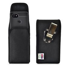 Google Pixel 2 XL Belt Case For Slim Case Vertical Black Nylon Belt Clip