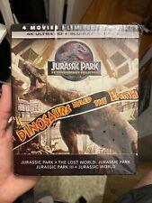 New ListingJurassic Park 25th Anniversary 4-Movie 4K Uhd + Blu-Ray Collection - No Digital
