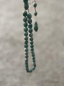 Amber Stone Islamic Prayer 33 beads Tasbih Misbaha   Tasbeeh 8mm