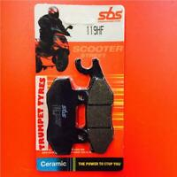 SYM RS125 RS 150 05 > ON SBS Rear Brake Pads Ceramic Set OE QUALITY 119HF