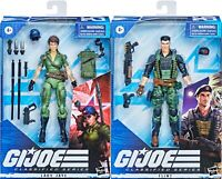 "GI Joe Classified Series 6"" Special Missions Cobra Island Lady Jaye Flint 2-Pack"