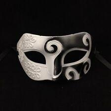 Hot Roman Greek Men Venetian Costume Mardi Gras Masquerade Party Ball Mask Dress