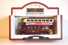 Lledo - 1928 Karrier E6 Trolley Bus - Robin Starch BNIB Premier Collection
