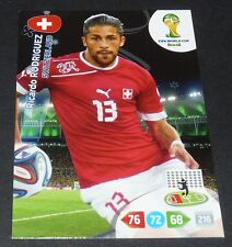 RICARDO RODRIGUEZ SUISSE SCHWEIZ FOOTBALL CARD PANINI FIFA WORLD CUP BRASIL 2014