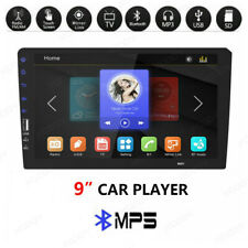 """Single 1 Din 9"""" Car TF/FM/USB MP5 Player Touch Screen Stereo Radio Bluetooth"""