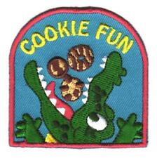Girl COOKIE FUN green Seller Daisy Brownie Patches Crests Badges SCOUT GUIDE