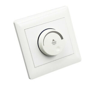 Adjustable 220-250V 10A Controller LED Dimmer Switch For Dimmable Bulb Lamp