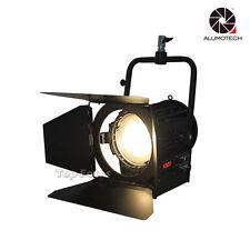 Unità 200W luce video Bi-Color Fresnel LED Spot Light Studio per macchina da presa