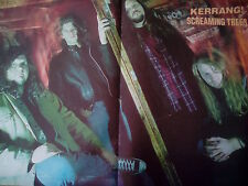 Screaming Trees Mark Lanegan 1990s  Poster Kerrang Mag
