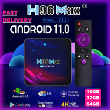 More details for h96 max v11, tv box, 16gb/32gb/64gb android 11.0 smart tv box, media player wifi