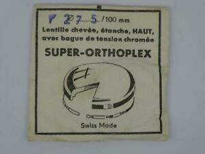 Quality Swiss,NOS 27.5mm High Dome Acrylic Watch Crystal Glass, Tension ring,275