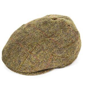 Failsworth Stornoway Harris Tweed Flat Cap - Lovat Mix