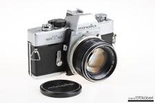 MINOLTA SR-T 101 mit MC Rokkor-PF 58mm f/1,4 - SNr: 1039954
