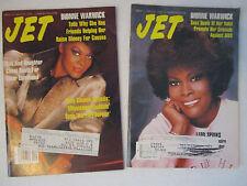 Dionne Warwick Pop Rock Black Americana US UN Ambassador Jet Magazine Lot 80s