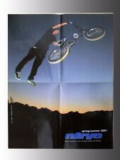 """2001, Nirve BMX, Freestyle, Dirt Bicycle Poster, Stephen Murray 17""""x22"""""""