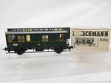 eso-7711Fleischmann 5050 H0 Postwagen Ansbach 1117 sehr guter Zustand