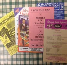 Collection Of Old Flyers POP & ROCK