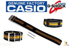 CASIO G-Shock GA-100MC-1A4 Original 28mm Black Cloth Watch BAND Strap w/ 2 Pins