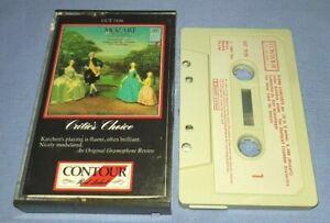 MOZART PIANO CONCERTOS No.20 & No.25 KARL MUNCHINGER classical cassette C0214