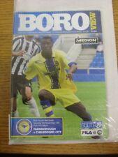05/11/2011 Farnborough v Chelmsford City  . Footy Progs/Bobfrankandelvis offer t