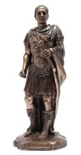 Brand New Julius Caesar  Statue Bronze Finish Roman Military Leader