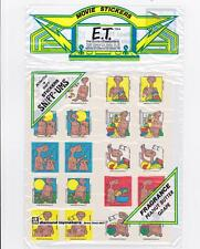 SEALED Vintage ET Movie Scratch & Sniff Stickers Peanut Butter Grape