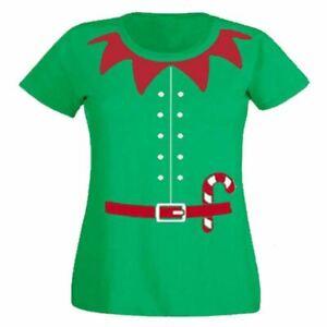 Novelty Christmas T-shirt Top Santa Snowman Reindeer Tee Xmas Mens Womens Unisex