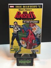 """True Believers #1 The Punisher """"First Appearance"""" NM"""