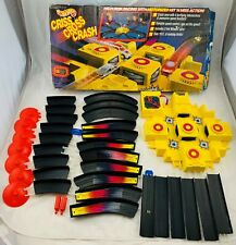 1992 Hot Wheels Criss Cross Crash Track Set in Good Condition FREE SHIPPING