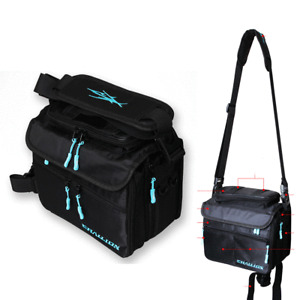 CHALLION  Squid Jig Fishing Bag Waist Pouch Shoulder Bags Rack Egi Case Holder