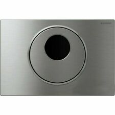 Geberit Sigma 10 AC Hands Free Single Actuator Flush Plate Stainless Steel