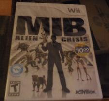 Men in Black: Alien Crisis (Nintendo Wii, 2012) NEW SEALED