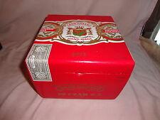 GRAN HABANO CZAR #5 RED WOOD CIGAR BOX