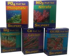 Salifert KH, Ca, Mg, NO3 + PO4 Test Bundle ideal für Meerwasseraquarium