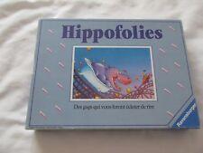 1990 RAVENSBURGER HIPPOFOLIES Roller Coaster HIPPOS JEU FRANCAIS FRENCH