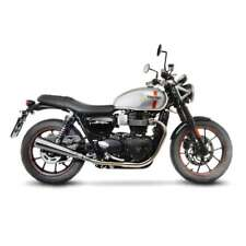 TRIUMPH STREET TWIN 2016 - 2017 LEOVINCE CLASSIC RACER STAINLESS STEEL