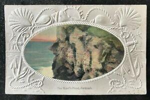 The Giant's Head Portrush Postcard Northern Ireland. National Series