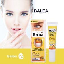 BALEA EYE CREAM Anti Wrinkle VEGAN Q10 + Omega Complex Beautiful Skin 15ml