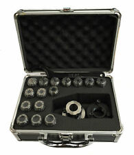 RDGTOOLS MYFORD ER25 2PC COLLET CHUCK 1-16MM SPANNER COMPLETE SET IN ONE BOX