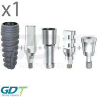 Implantation Set For Conical RP, Active Hex, Dental Implants GDT Brand