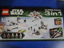 Lego 66449 Star Wars Super Pack 3 in 1 Sets 75000 + 75003 + 75014 NEU OVP