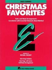 Essential Elements Christmas Favorites : B Flat Bass Clarinet (1992, Paperback)
