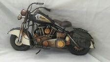 Tinplate Motorcycle. American Classic Indian style bike.  New.